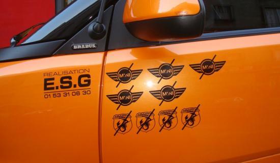 tuning auto orange