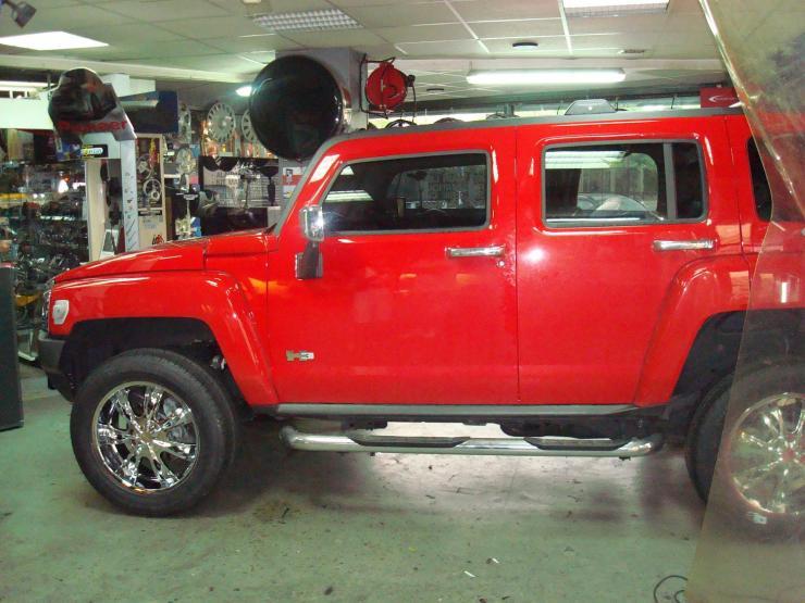 Hummer H3 Jantes Esg Accessoires Automobile Paris