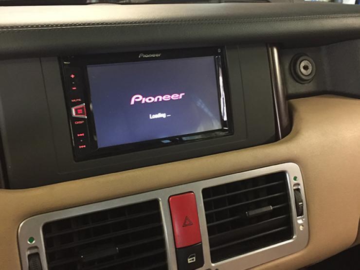 gps range rover