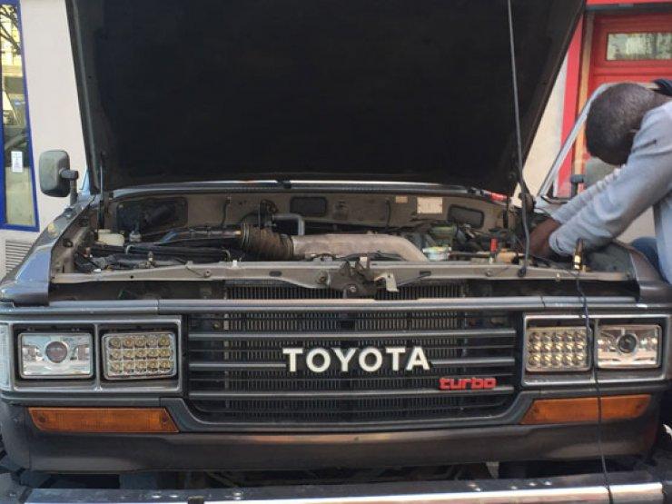 Bigfoot Toyota
