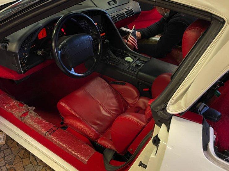 autoradio corvette c4