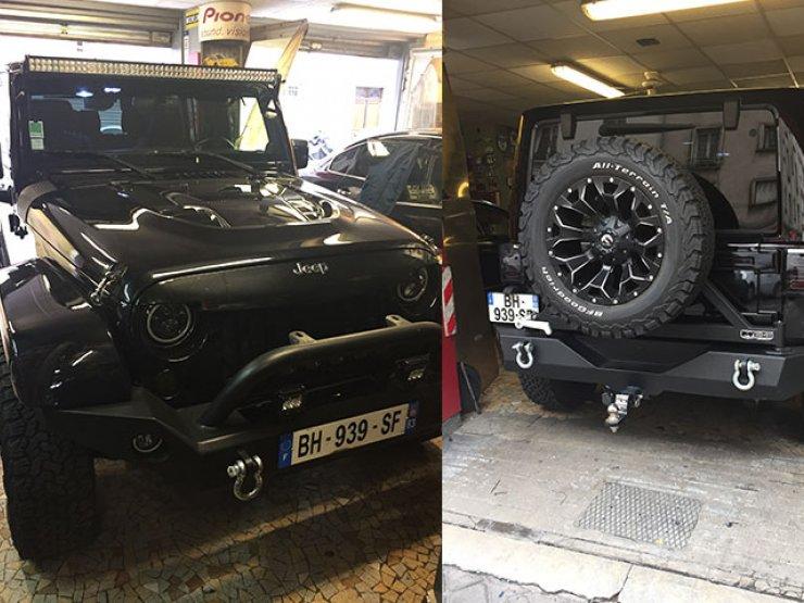 camera de recul jeep wrangler