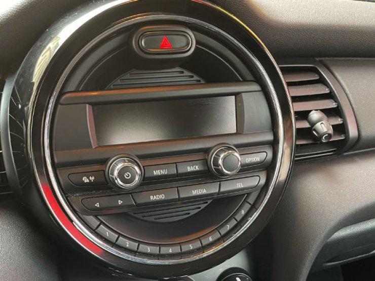 console centrale mini one