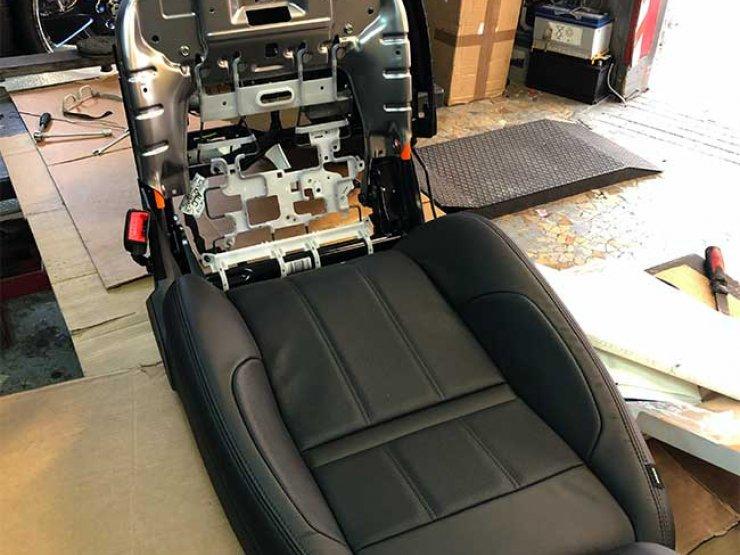 siège chauffant range Rover