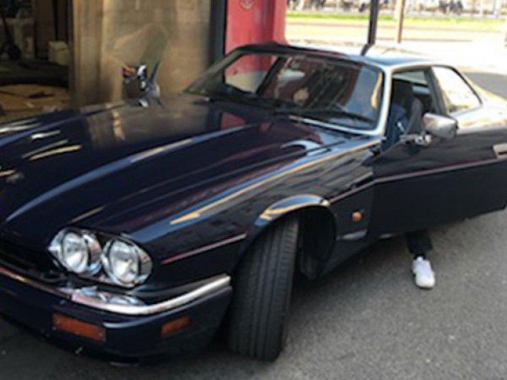 pose camera jaguar xjs