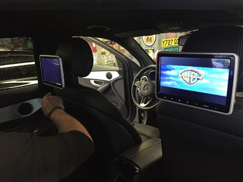 écran dvd auto