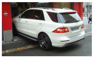 Mercedes ml jantes paris
