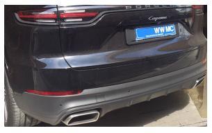 embout échappement Porsche
