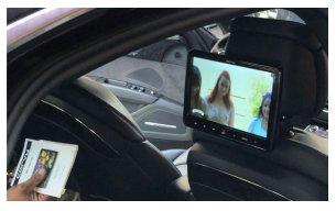 écran dvd Audi A8