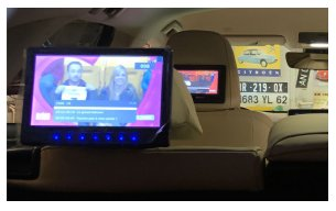 écran dvd Lexus h450