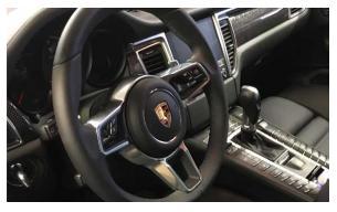 écran Porsche Macan