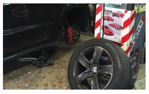 roue jeep srt